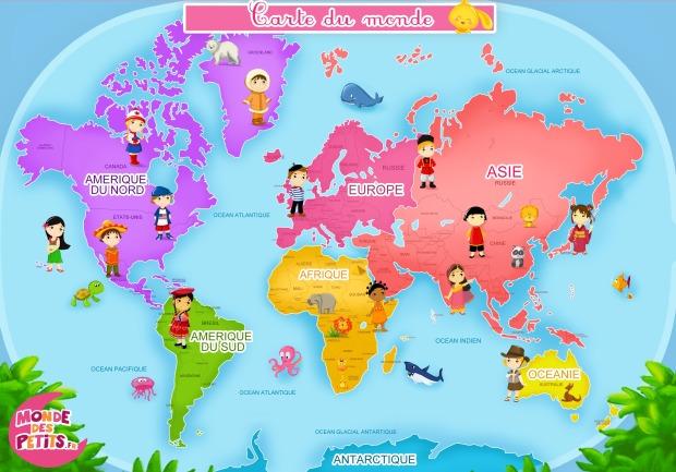 Pays Et Continents La Poésie Le Français Pour Les élèves